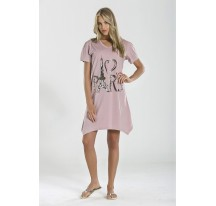 "Clara pink női "" Luxus "" hálóing"