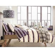 Paski szatén ágynemű
