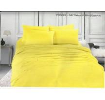 Sárga egyszínű Ágynemű