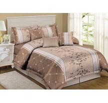 Világos barna ágynemű Ágynemű