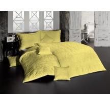 Sárga luxus ágynemű