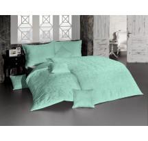 Világoszöld luxus ágynemű
