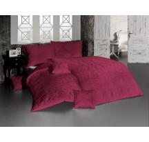 bordó luxus ágynemű