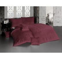 Lolita sötétbordó luxus ágynemű
