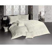 Világos bézs damaszt luxus ágynemű