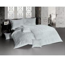 Lolita damaszt világosszürke luxus ágynemű