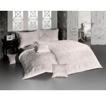 Homok damaszt luxus ágynemű