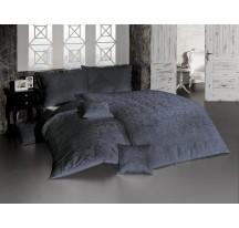 Sötétszürke luxus ágynemű