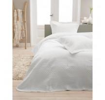 Charlene fehér Luxus Ágytakaró