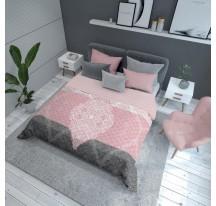 Rózsaszín modern Ágytakaró