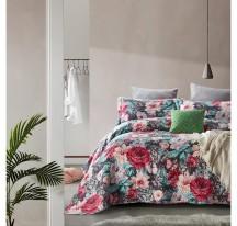 Virágmintás modern Ágytakaró