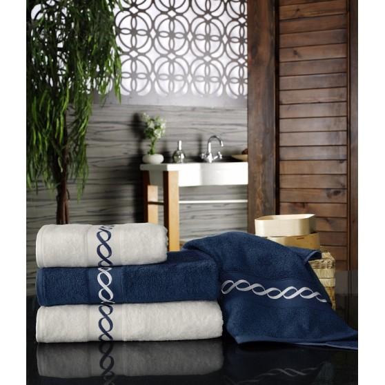 Kék Bambusz törölköző