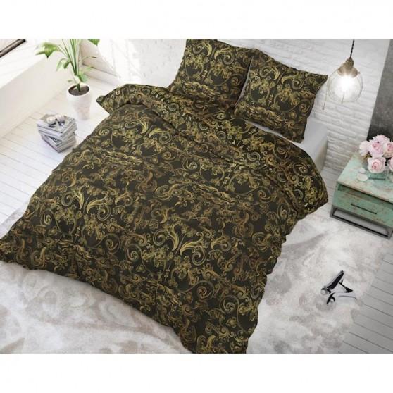 Mozaik zöld ágynemű