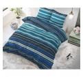 Kék csíkos ágynemű