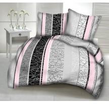 Kira rózsaszín modern ágynemű