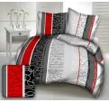 Kira piros modern ágynemű